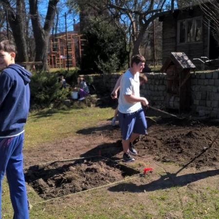 Život v zahradě - práce na projektu
