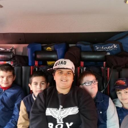 Návštěva hasičského záchranného sboru