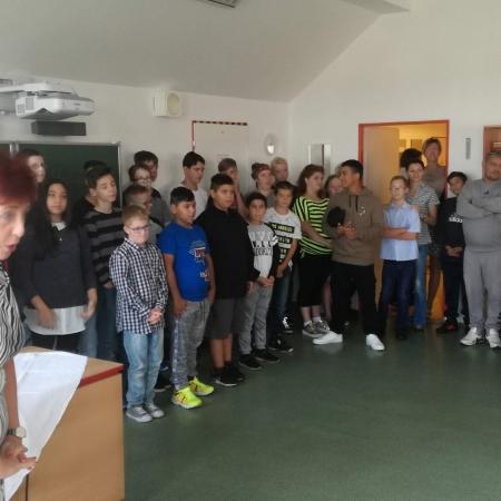 Začátek školního roku 2018/2019