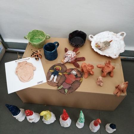 Výstava výtvarných prací ke Dni Země -  8 .4. 2019